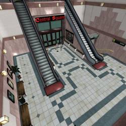[Silent Hill 3] Mall entrance by shprops4xnalara