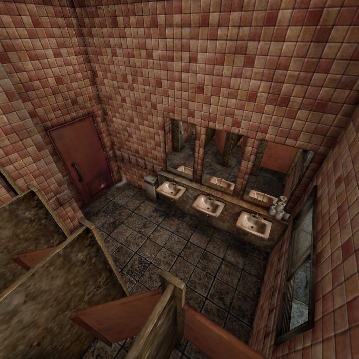 [Silent Hill 3] Toilett by shprops4xnalara