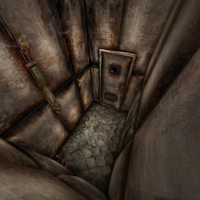 [Silent Hill 3] Padded room by shprops4xnalara