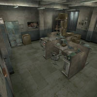 [Silent Hill 3] Office by shprops4xnalara