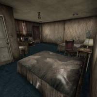 [Silent Hill 3] Hotel room by shprops4xnalara