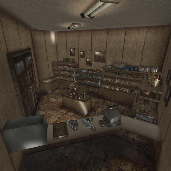 [Silent Hill 3] Helen's bakery by shprops4xnalara