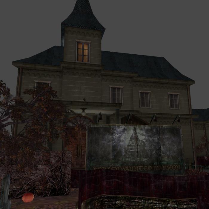 [Silent Hill 3] Borley haunted mansion by shprops4xnalara