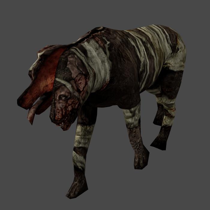[Silent Hill 3] Double Head ORIGINAL BONES by shprops4xnalara