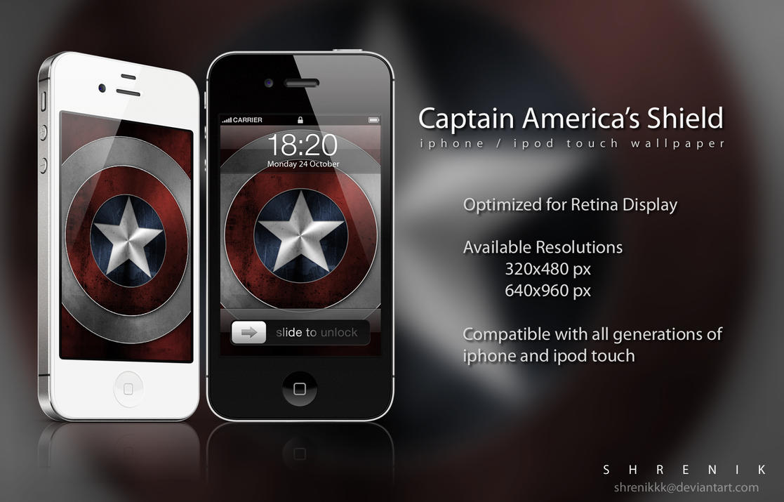Captain americas shield by shrenikkk on deviantart captain americas shield by shrenikkk voltagebd Gallery