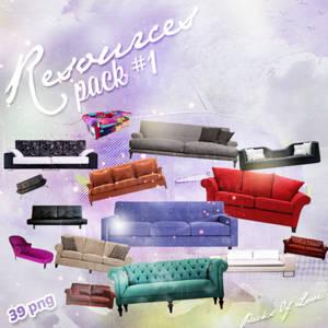 Sofa PNG Pack
