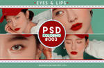 PSD Coloring [Eyes and Lips] #003