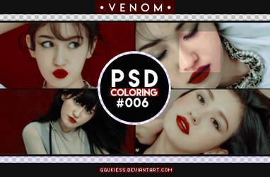 PSD Coloring [VENOM] #006 by ggukiess