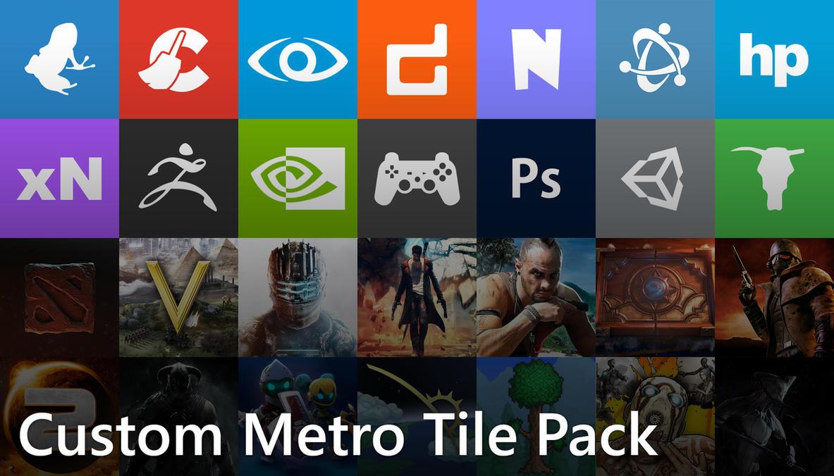 Windows 8 Custom Metro Tile Pack by insyami