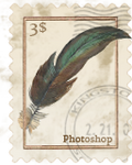Vintage Stamp Icon Template