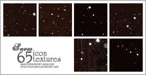 65 Icon Textures: Snow