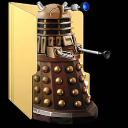 Dalek folder icon by AnitaPrime