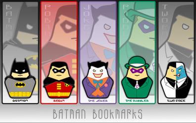 Batman Bookmarks