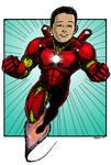 Iron Man Commissioned Hero Treatment