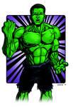 Hulk Commissioned Hero Treatment