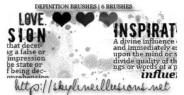 Definition Brushes by SkylineIllusions