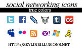 Social Networking Icons by SkylineIllusions