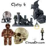 Gothy Stock 4 by TinusDream