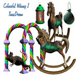 Colourful Whimsy Stock