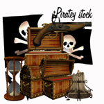 Piratey Stock by TinusDream
