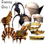 Crowning Glory Stock 1 by TinusDream