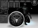 Spider-Man Black for DesktopX