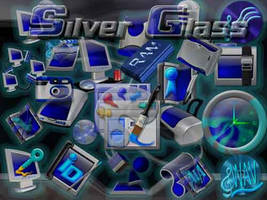 Silver Glass Mis. icons by DaRkFuSsIoOn