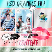 3 PSD Graphics File by crispytisha