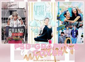 PSD Wattpad Cover Graphics file Pack by crispytisha