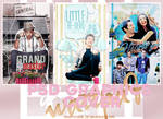 PSD Wattpad Cover Graphics file Pack