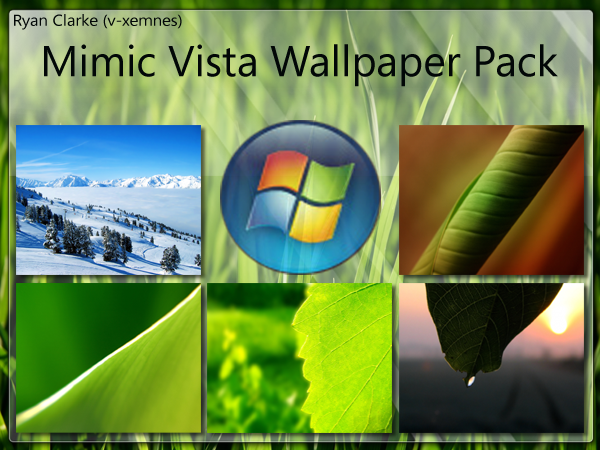vista wallpaper. windows vista wallpaper pack.