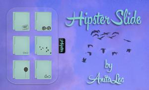 Hipster Slide for XWidget