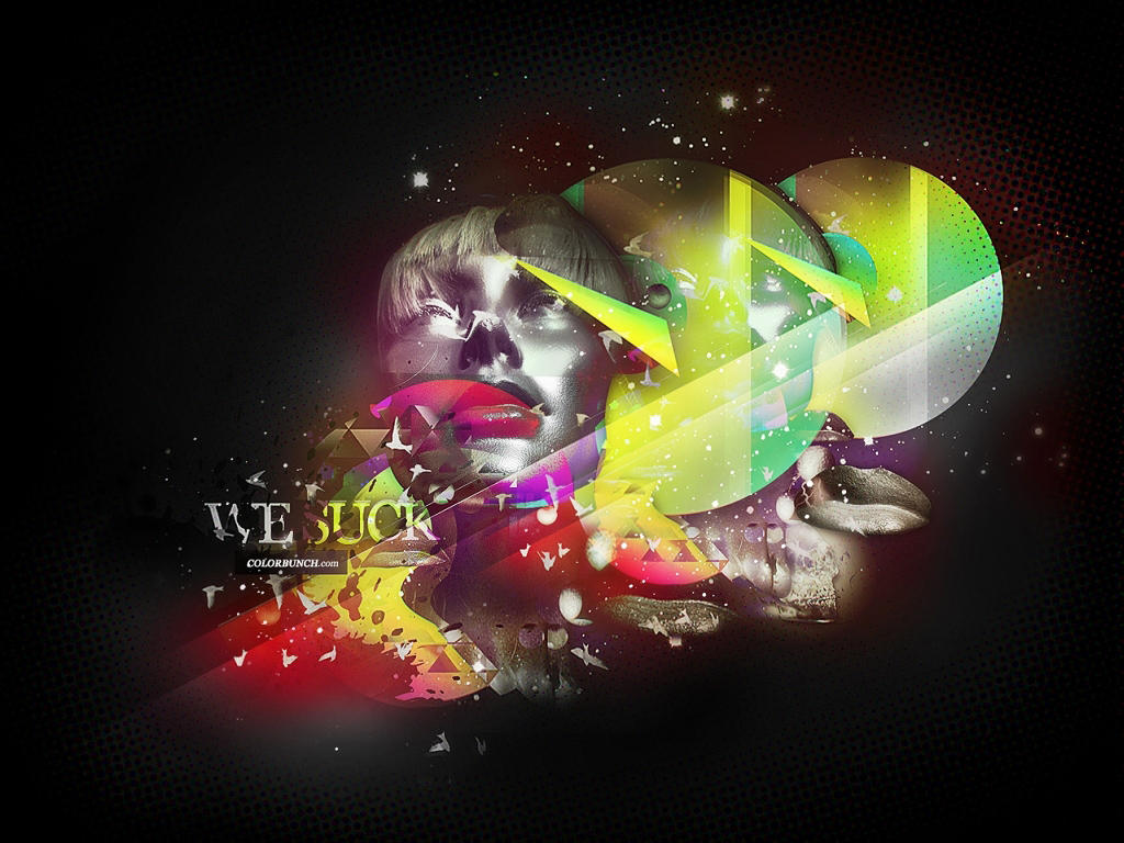 WE SUCK - RA909 RMX WALLPAPER by fee1