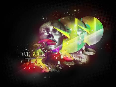 WE SUCK - RA909 RMX WALLPAPER
