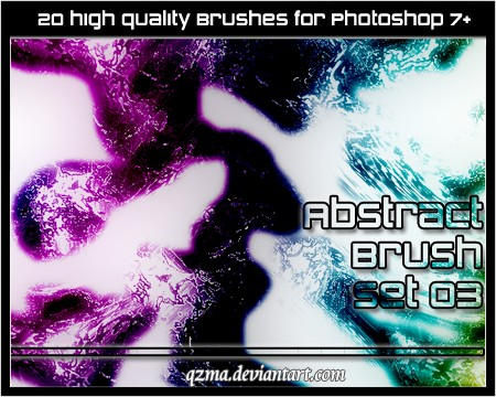 Abstract Brush Set 03 by Qzma