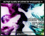 Abstract Brush Set 03