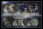 Realistic Planets And Starfiel