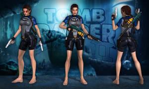 Lara Croft TR2 - Wetsuit SOLA by Larreks