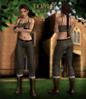 Lara Croft TR2 - Home by Larreks