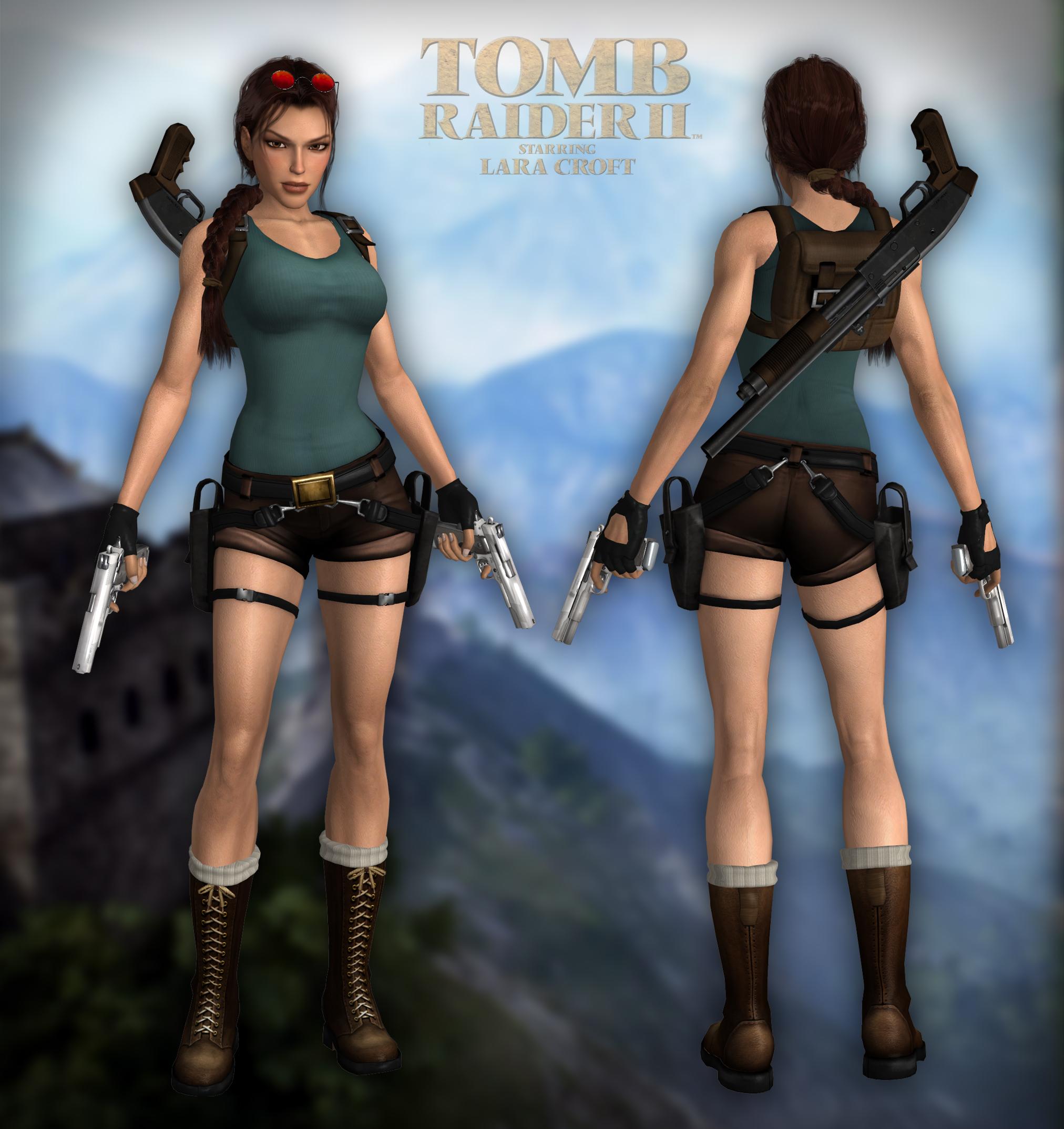 Tomb Rider Wallpaper: Tomb Raider On Xnalara-Customized