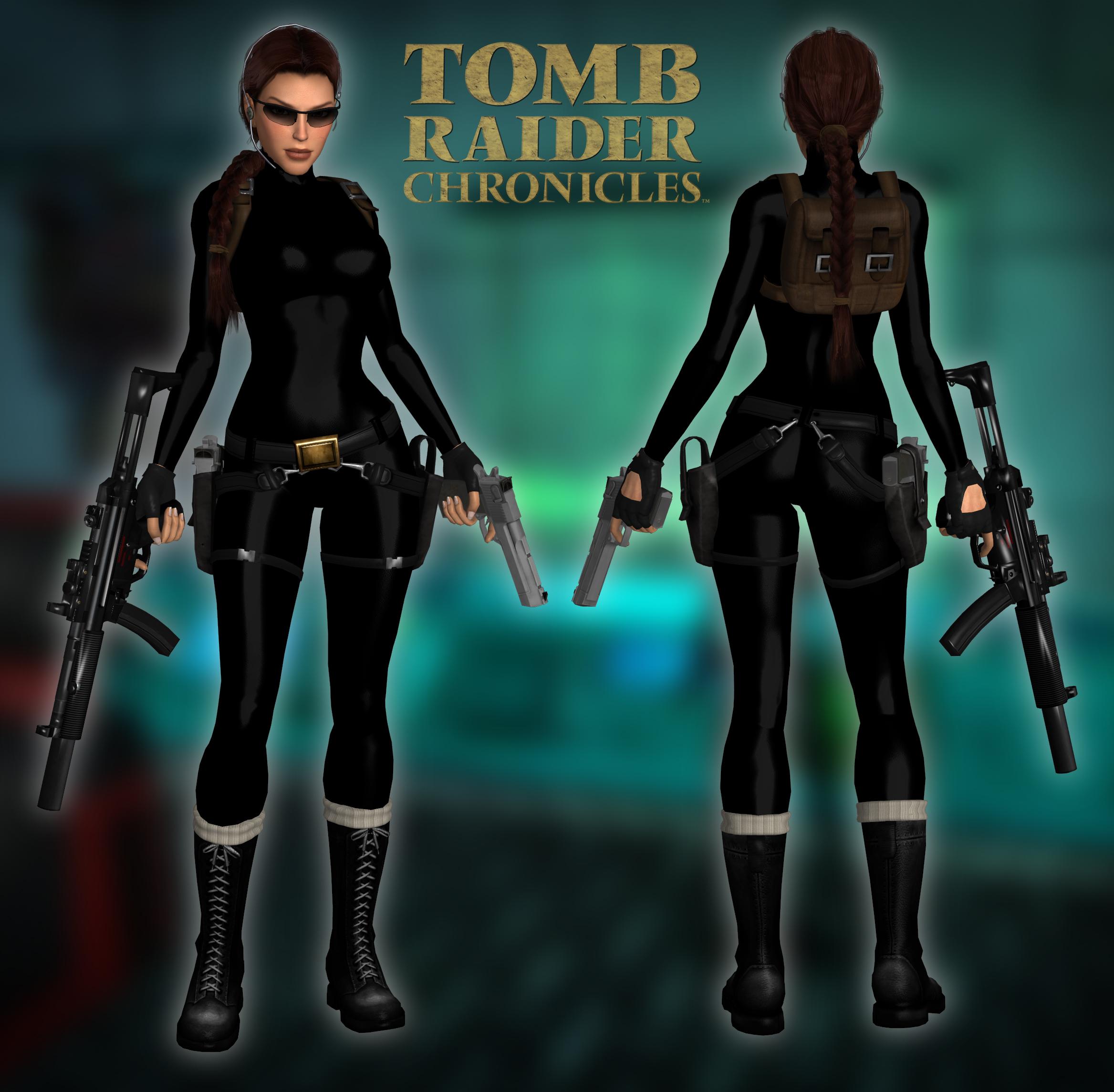 3d Tomb Raider Wallpaper: Catsuit By Larreks On DeviantArt