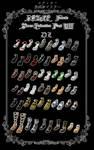 DOA5LR Female Shoes Collection Part VIII