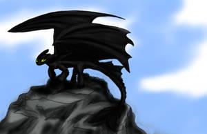 Nightfury (request) by Toa-Niretta