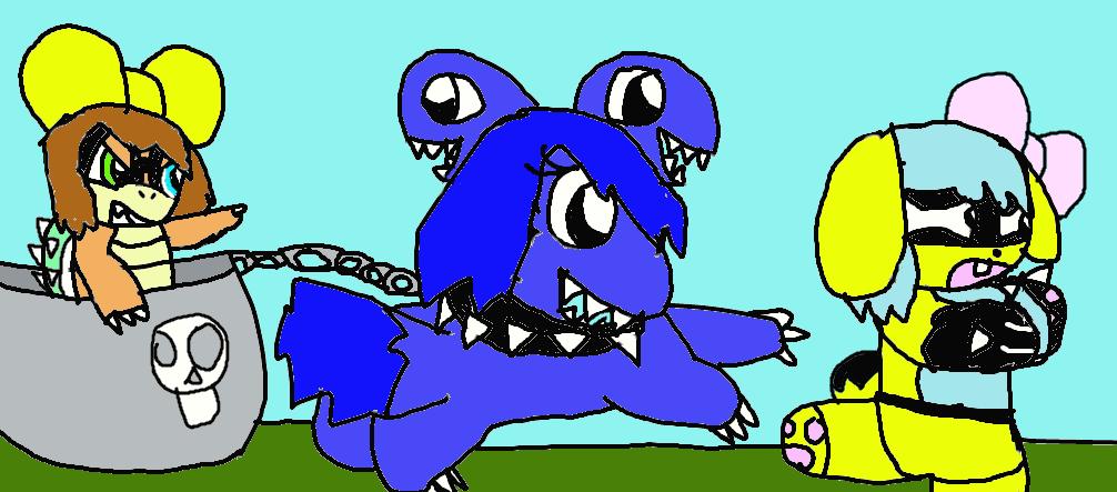 The Revenge of Taffy Koopa by oreofurryfan