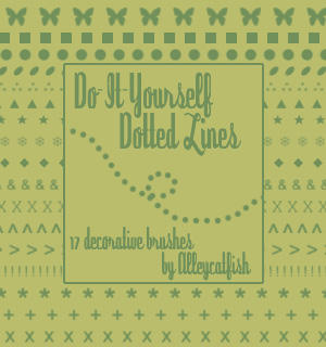 Do-It-Yourself Dotted Lines by Alleycatfish