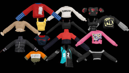 [MMD] Tops\Jackets\Sweaters\Shirts [DL]