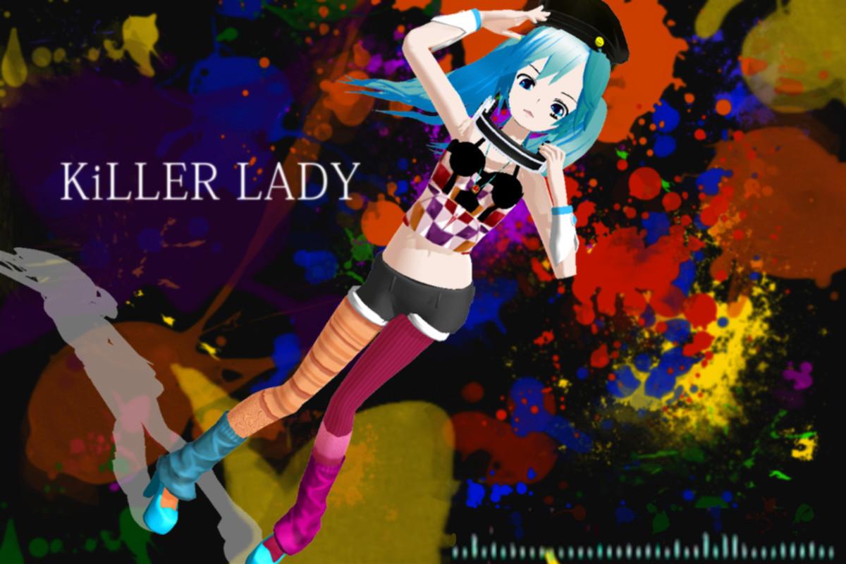3d mmd killer lady prinz and kashima 3