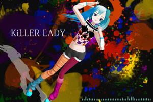 MMD NC: KiLLER LADY Lat Miku by lovechipmunks24