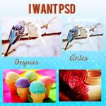 I Want PSD