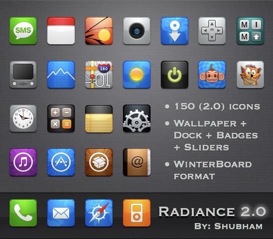Radiance 2.0 for iPhone by kediashubham